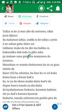 Sakaci Littafin Hausa screenshot 3