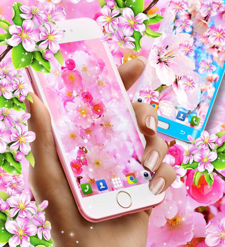 Sakura Flowers Live Wallpaper For Android Apk Download