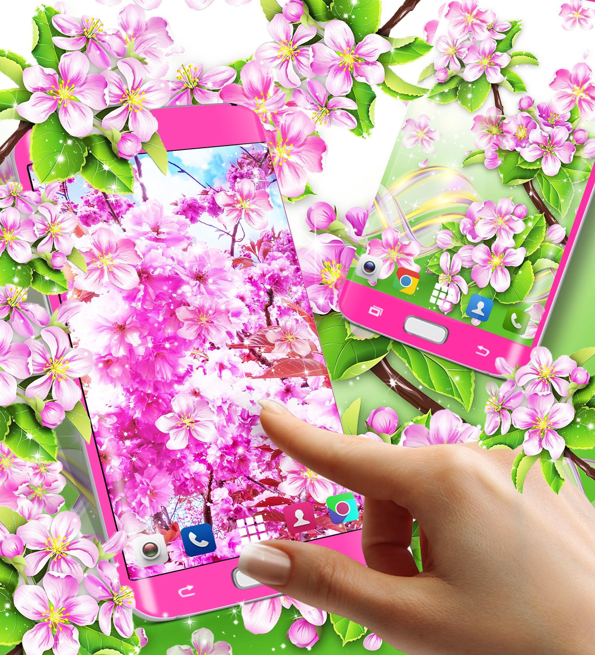 Bunga Sakura Hidup Wallpaper For Android Apk Download