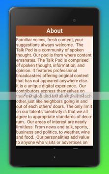 The Talk Pod screenshot 7