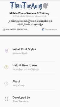 TTA SAM Myanmar Font 8 for Android - APK Download
