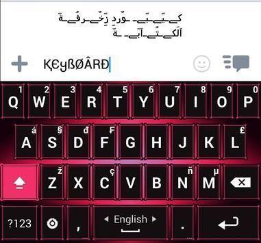 Decoration Text Keyboard 海報
