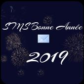 Sms bonne année 2019 icon