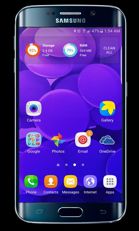 Samsung Galaxy S8 launcher theme for Android - APK Download