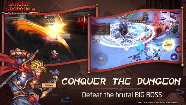 SAMURAI SHODOWN: The Legend of Samurai screenshot 4
