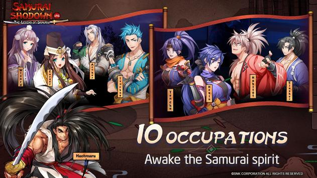 SAMURAI SHODOWN: The Legend of Samurai poster