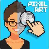 Pixelfy : Sandbox no Draw Coloring by number icon