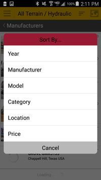 Machinery Trader स्क्रीनशॉट 4