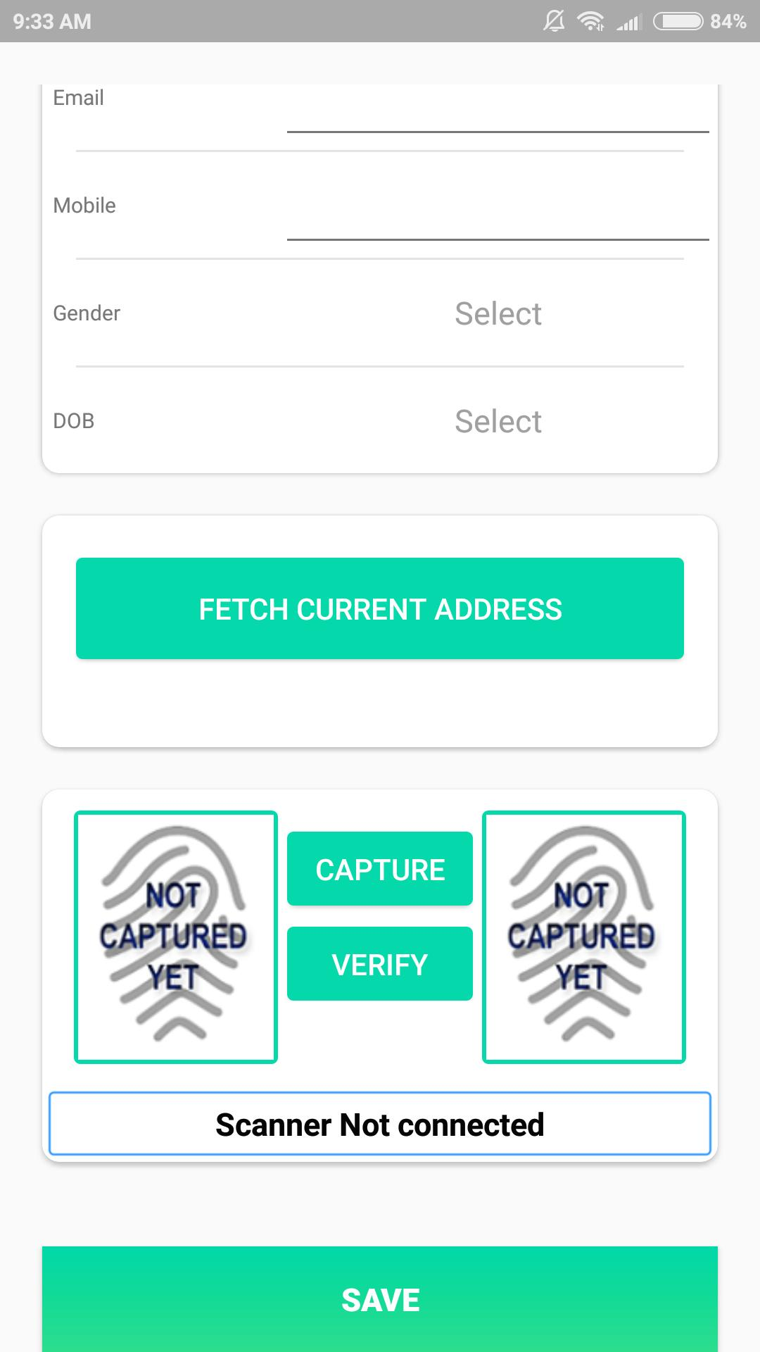 BioScan - Complete Biometric Attendance System for Android