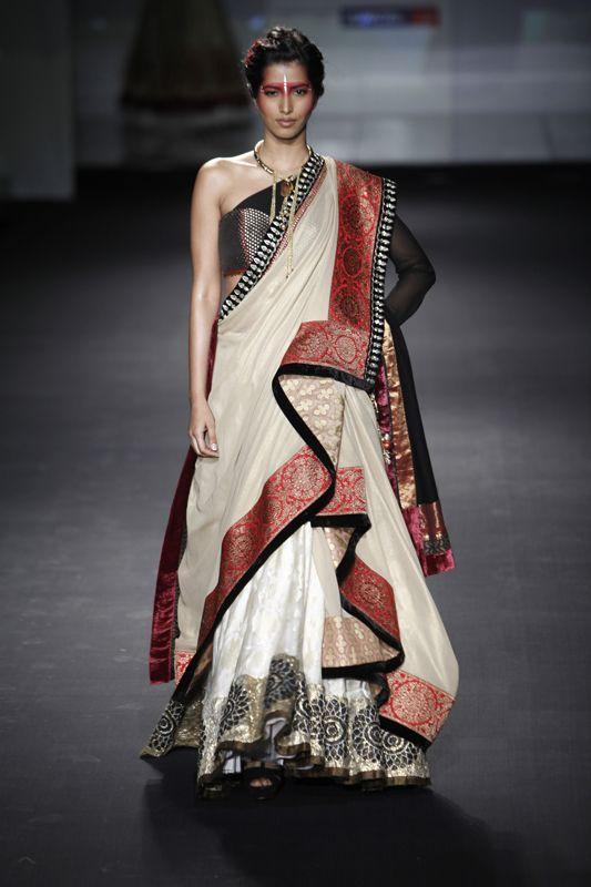 Draping styles images saree 12 Different