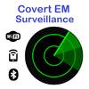 监控 - 查找和跟踪 蓝牙或 据备 WiFi 的设备或人 图标