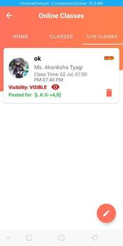 Faculty App screenshot 1