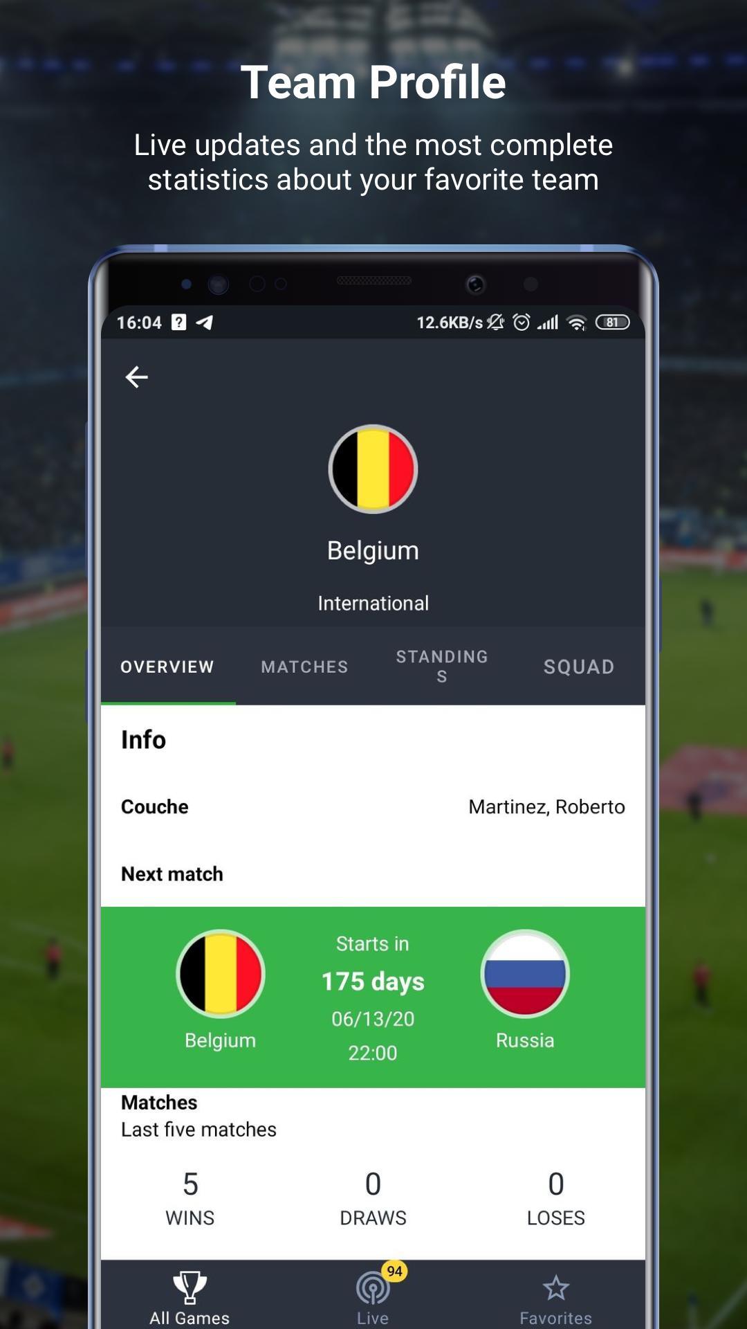 777score Live Soccer Scores Fixtures Results For Android Apk Download