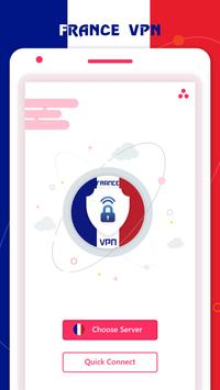 France VPN Private - France Unlimited Free VPN poster
