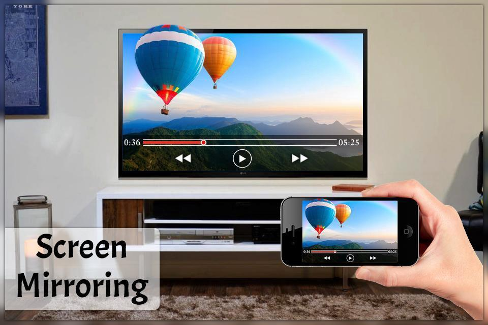 Screen Mirroring with Samsung TV - Mirror Screen for Android