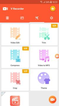 Screen Recorder, Video Recorder, V Recorder Editor screenshot 5
