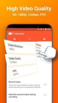 Screen Recorder, Video Recorder, V Recorder Editor screenshot 3