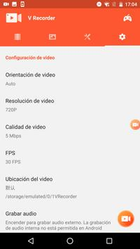 V Recorder captura de pantalla 7