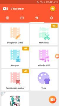Screen Recorder - Perekam Layar, Video Editor screenshot 5