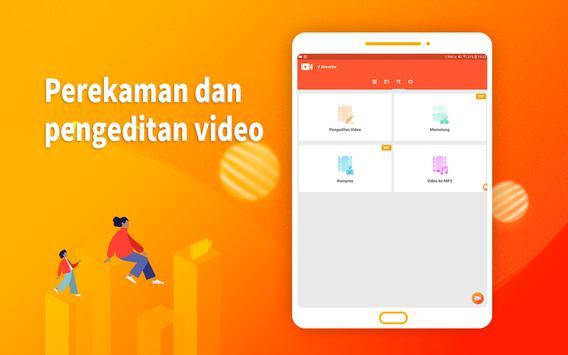 Screen Recorder - Perekam Layar, Video Editor screenshot 8