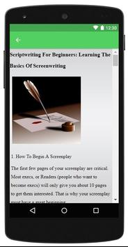 Script Writing for Android - APK Download