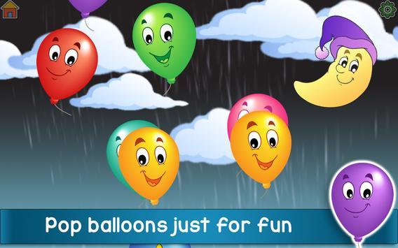 Kids Balloon Pop Game Free 🎈 screenshot 9