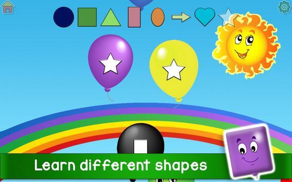 Kids Balloon Pop Game Free 🎈 screenshot 12