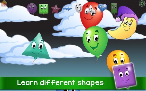 Kids Balloon Pop Game Free 🎈 screenshot 13