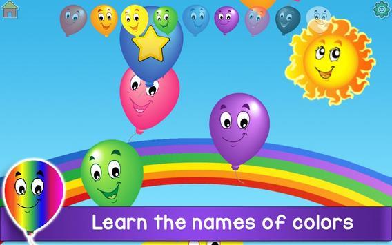 Kids Balloon Pop Game Free 🎈 screenshot 11
