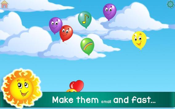 Kids Balloon Pop Game Free 🎈 screenshot 14