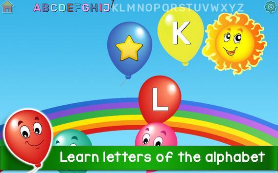 Kids Balloon Pop Game Free 🎈 screenshot 1