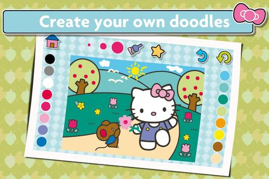 Hello Kitty Coloring screenshot 12