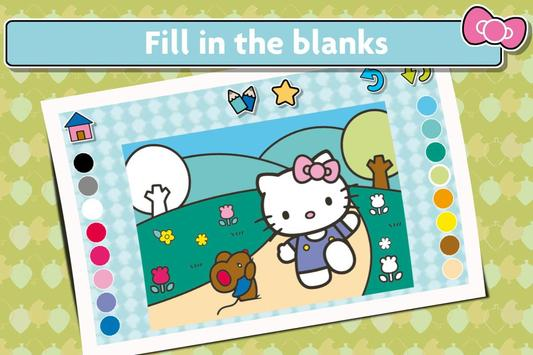 Hello Kitty Coloring screenshot 1