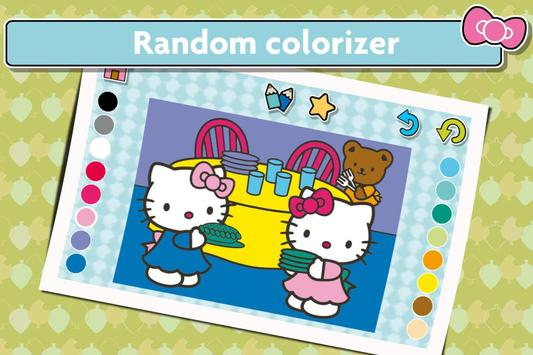 Hello Kitty Coloring screenshot 9