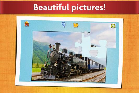Cars, Trucks, & Trains Jigsaw Puzzles Game 🏎️ screenshot 4