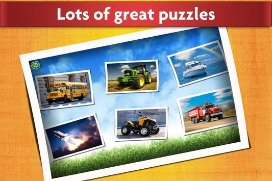 Cars, Trucks, & Trains Jigsaw Puzzles Game 🏎️ screenshot 1