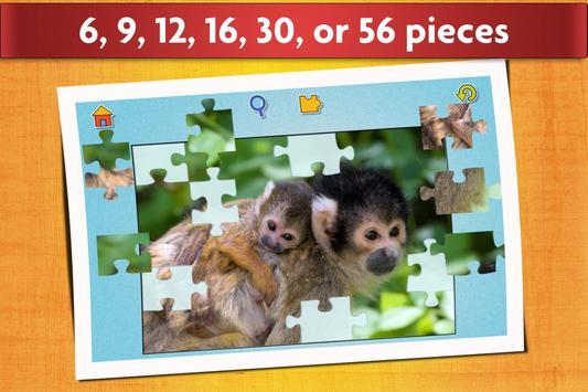 益智游戏与婴儿动物 - 适合儿童和成人 🐣 截图 2
