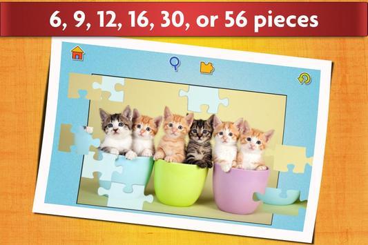 与猫的益智游戏 - 适合儿童和成人 😺 截图 2