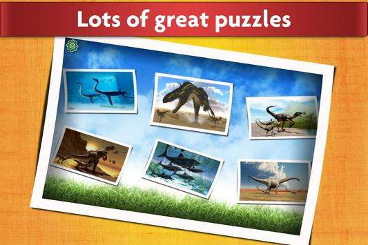 Dinosaurs Jigsaw Puzzles Game - Kids & Adults screenshot 11