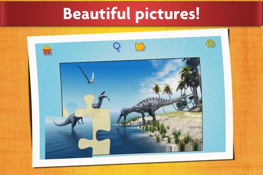 Dinosaurs Jigsaw Puzzles Game - Kids & Adults screenshot 14