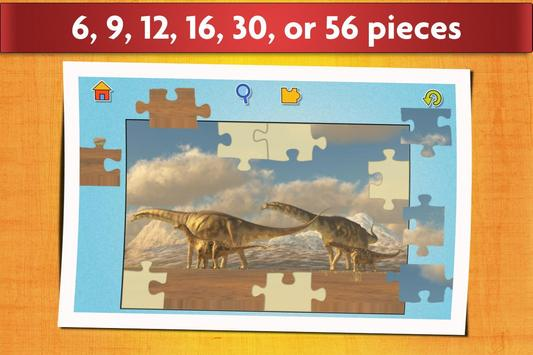 Dinosaurs Jigsaw Puzzles Game - Kids & Adults screenshot 2