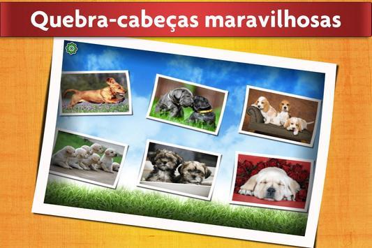 Jogo de Cães Quebra-cabeça - Crianças e adultos 🐶 imagem de tela 1