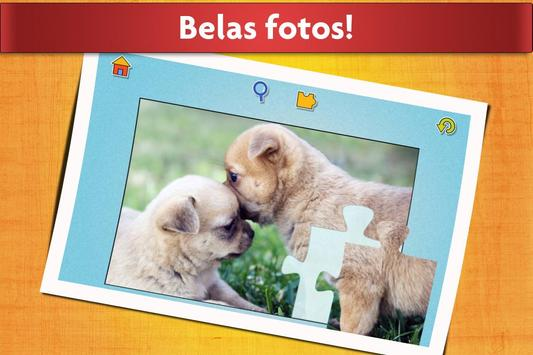 Jogo de Cães Quebra-cabeça - Crianças e adultos 🐶 imagem de tela 4