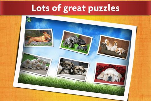 الكلاب لغز لعبة للأطفال مجانا تصوير الشاشة 11