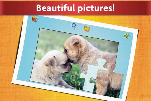 الكلاب لغز لعبة للأطفال مجانا تصوير الشاشة 9