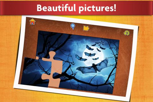 万圣节益智游戏 - 适合儿童和成人 🎃 截图 4