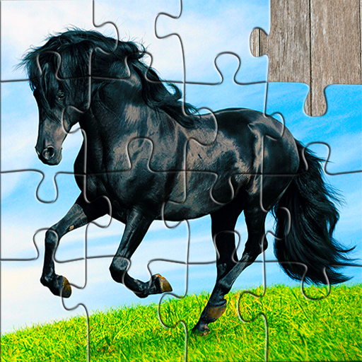 Horse Jigsaw Puzzles Game - For Kids & Adults 🐴