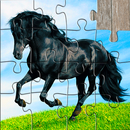 Horse Jigsaw Puzzles Game - For Kids & Adults 🐴 APK Android