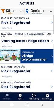 Krisinformation.se Plakat
