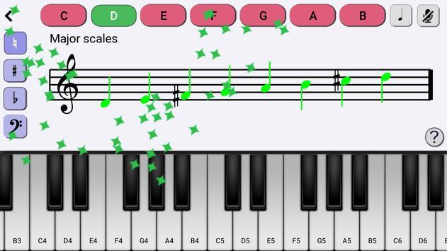 Piano Trainer スクリーンショット 1